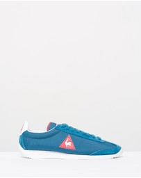 Le Coq Sportif - Quartz W Nylon Ink Blue/Rose Red 38