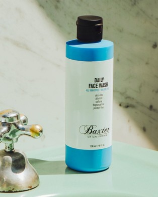 Baxter of California Daily Face Wash - Beauty (Blue)