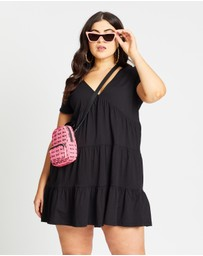 Mika Muse - Tina Tiered Baby Doll Dress