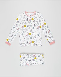 Cotton On Kids - Florence Long Sleeve PJ Set - Kids-Teens