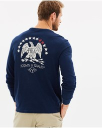 Polo Ralph Lauren - LS Custom Slim Fit Cotton T-Shirt