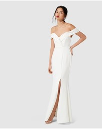 Forever New - Sara Off Shoulder Gown