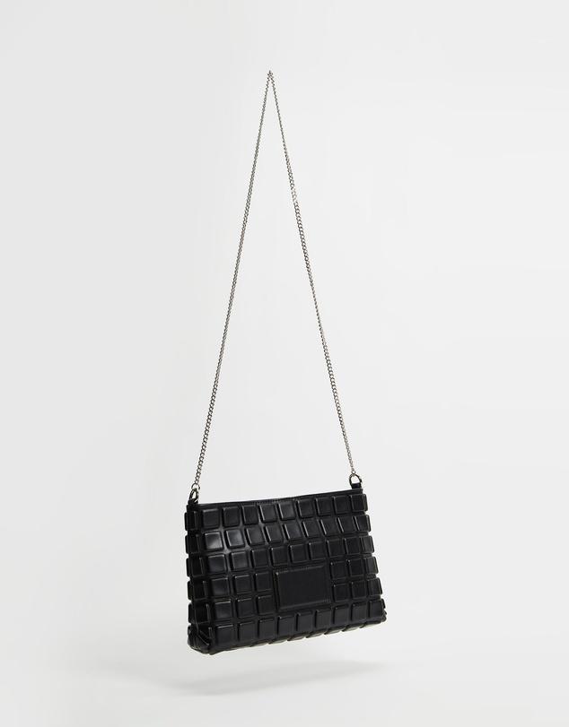 Women Embossed Soft Shoulder Bag
