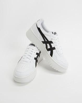 ASICS - Japan S Platform Women's Lifestyle Sneakers (White & Black)