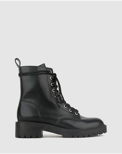 Betts - Razor Chunky Ankle Boots