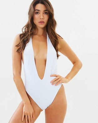 Lioness – The Cindy – One-Piece Swimsuit White