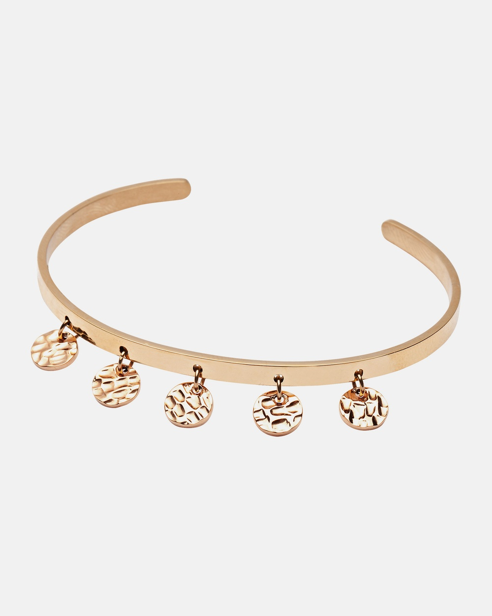 Pastiche Tide Moon Cuff Jewellery Gold