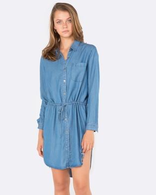 Amelius – Notion Shirt Dress Chambray
