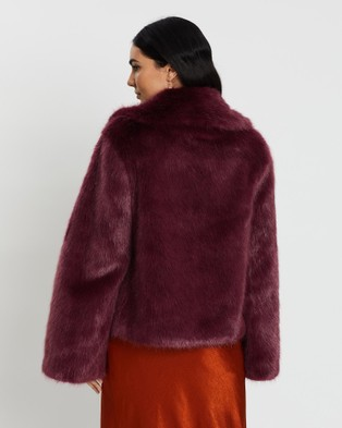 Unreal Fur Madam Butterfly Jacket - Coats & Jackets (Sweeter Than Wine)