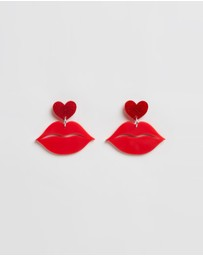 HAUS OF DIZZY - Hot Lips Earrings