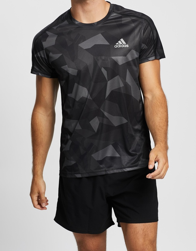 adidas Performance - Own The Run Camouflage Tee
