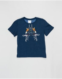 Camilla - Short Sleeve T-Shirt - Kids-Teens