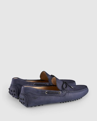 Aquila Fiorano Driving Shoes - Dress Shoes (Navy)