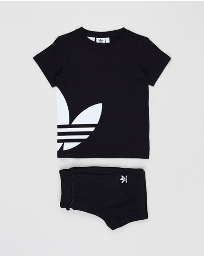 adidas Originals - Big Trefoil Tee Set - Kids