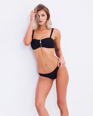 Bond-Eye Swimwear – Legacy Briefs – Bikini Bottoms (Black)