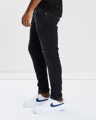 Nudie Jeans Skinny Lin Jeans - Jeans (Worn Black)