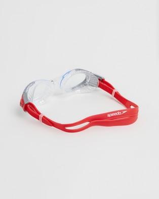 Speedo Futura Biofuse Flexiseal   Unisex - Goggles (Red & Smoke)