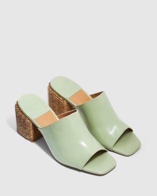 cherrichella Wicked Mules - Heels (Mint)