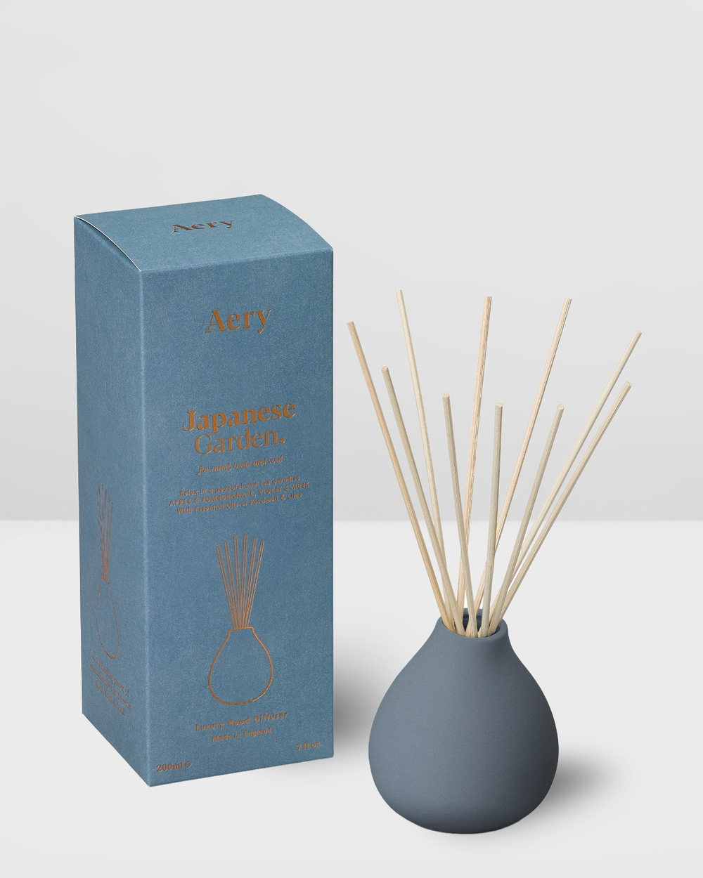 Aery Living Fernweh 200ml Reed Diffuser Diffusers Blue