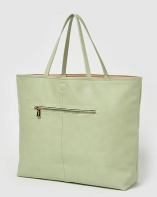 Urban Originals Flipside Tote - Handbags (Green/Nude)