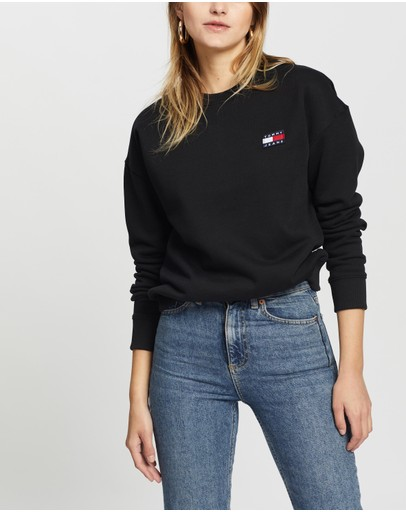 Tommy Jeans - Tommy Badge Crew Sweater