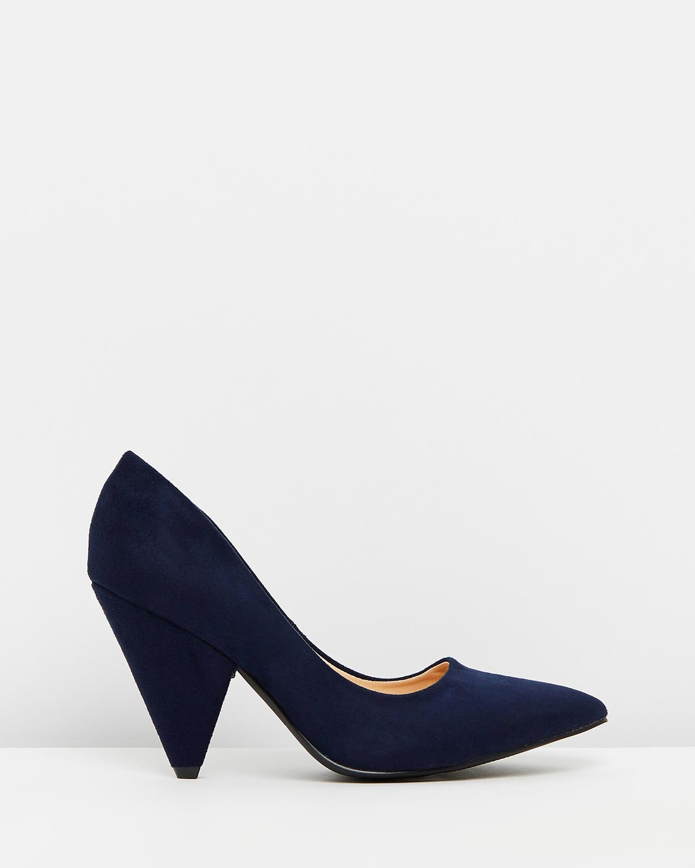 Verali Innis All Pumps Navy Micro Innis