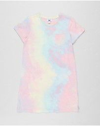 Free by Cotton On - Toni T-Shirt Dress - Teens
