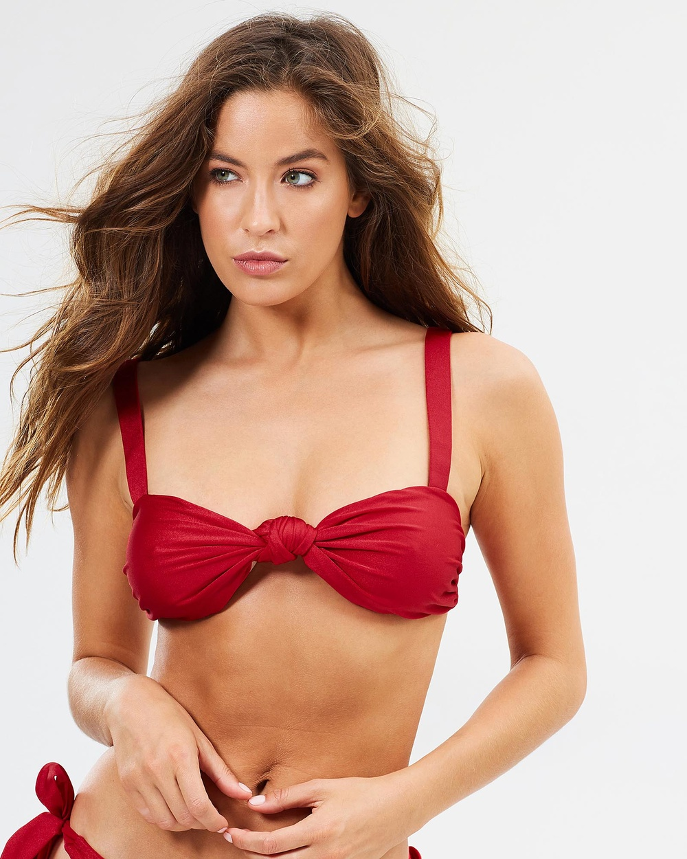 We The Dreamrs Capri Bikini Top Bikini Tops Ruby Red Capri Bikini Top