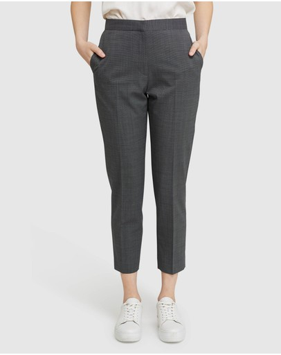 Oxford - Charla Wool Stretch Suit Trousers