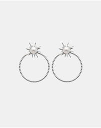 Karen Walker - Forbidden Stud and Hoop Earrings