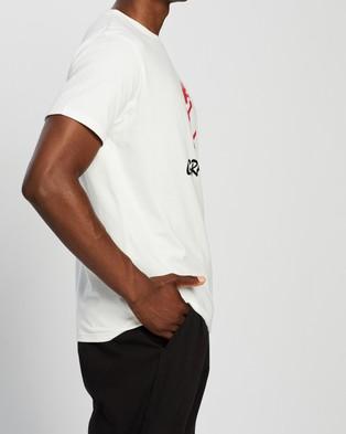 Gramicci Logo Tee - T-Shirts & Singlets (White)