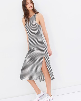 Nude Lucy – Panama Midi Dress Stripe