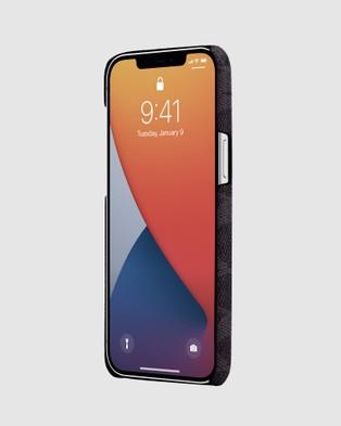 Coach Slim Wrap Case for iPhone 12 & 12 Pro - Tech Accessories (Blue)