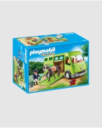 Playmobil - Horse Transporter - Kids