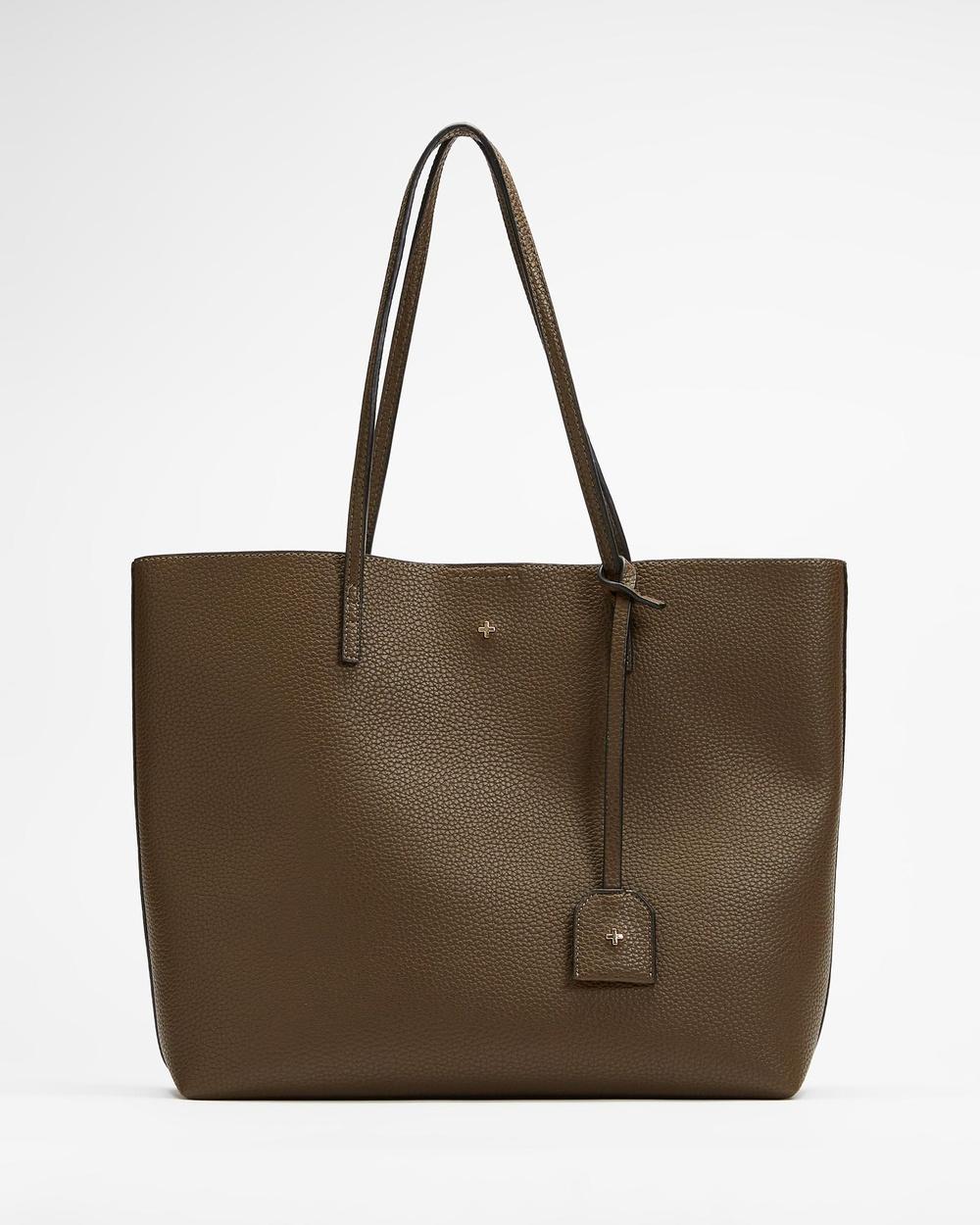 PETA AND JAIN Saint Tote Bag Handbags Olive
