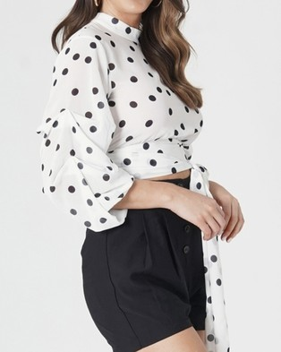 Amelius Darby Crop Top - Cropped tops (White)