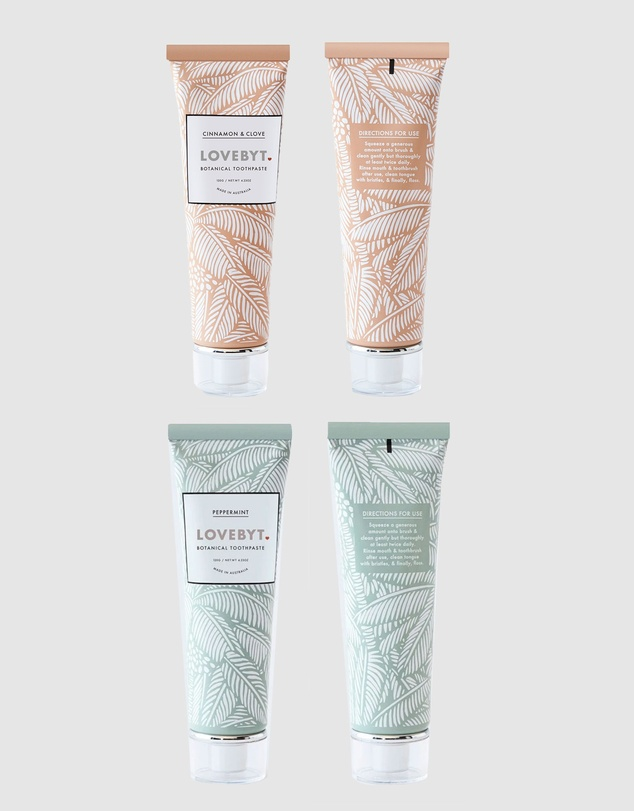 Life Peppermint and Cinnamon & Clove Toothpaste Pack