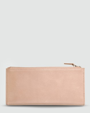 Status Anxiety Dakota Wallet Dusty Pink - Wallets (Dusty Pink )