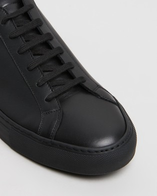 Common Projects Achilles Low   Men's - Sneakers (Black)