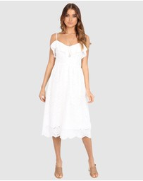 Lost in Lunar  - Romi Midi Dress