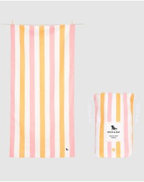 Dock & Bay - Large Beach Towel 100% Recycled Summer Collection