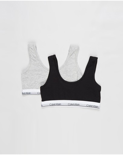 Calvin Klein - Modern Cotton 2 Pack Bralette - Teens