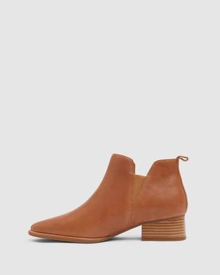 Jane Debster Demi - Mid-low heels (TAN)