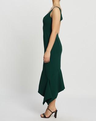 Keepsake the Label Uptown Midi Dress - Bridesmaid Dresses (Forest)