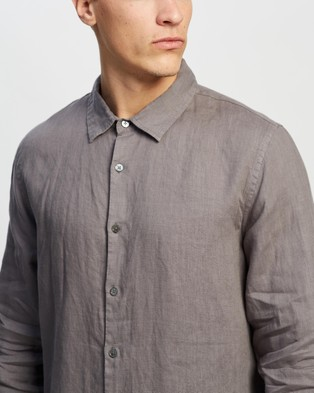 Assembly Label Casual Long Sleeve Shirt shirts Sable