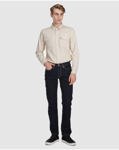 Levi's 514 Straight Fit Jeans Rinsey