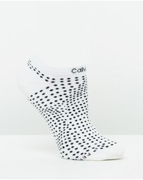 Calvin Klein - Coolmax Cushion Liner Socks