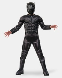Rubie's Deerfield - Black Panther Premium Costume - Kids