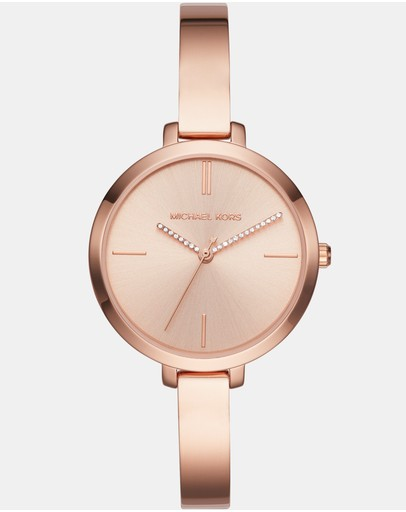 Michael Kors - Jaryn Rose Gold -Tone Analogue Watch