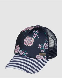 Roxy - Womens Water Come Down Trucker Cap